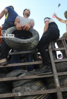 مشاركة حاشدة بجمعة انتفاضة القدس