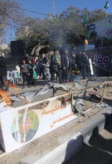حماس تنظم مسيرة حاشدة نصرة للقدس غرب غزة