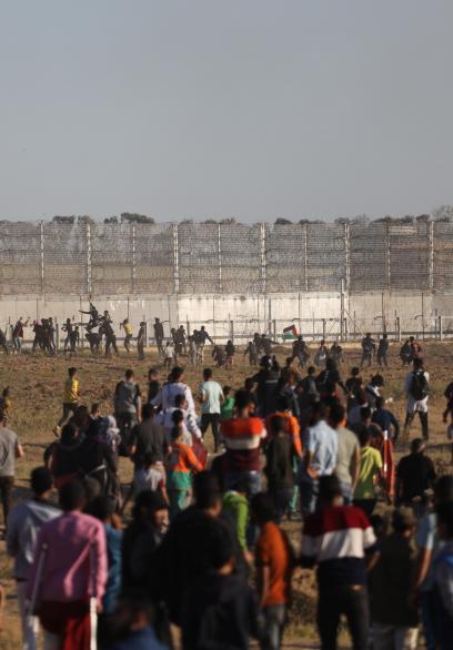 مشاهد من الأسبوع الـ57 لمسيرات العودة وكسر الحصار
