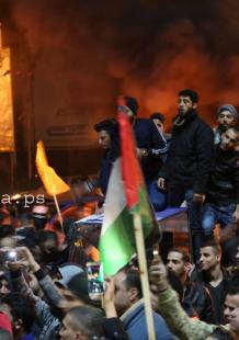 غضب في غزة رفضًا لقرار ترمب