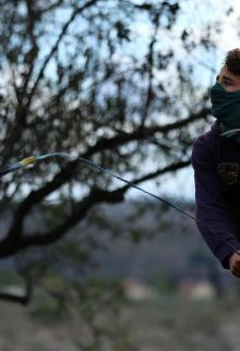مواجهات مع الاحتلال بقرية كفر قدوم