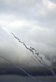 قصف المقاومة لمستوطنات غلاف غزة