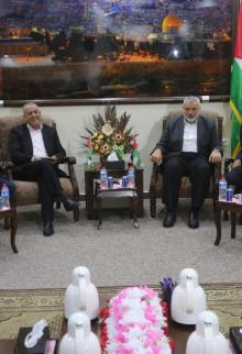 حماس تجتمع بالفصائل لتدارس الموقف بشأن القدس والمصالحة