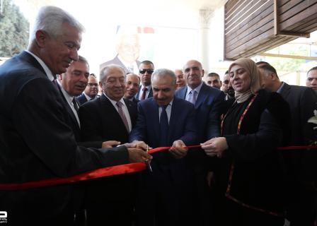اشتية يشارك بمعرض الصناعات الفلسطينية 2019 بالبيرة