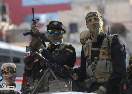 جانب من مهرجان انطلاقة حركة الجهاد الإسلامي الـ32 بغزة