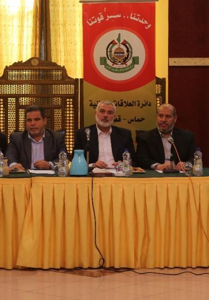قيادة حماس تلتقي الفصائل بغزة