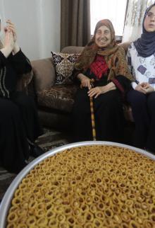 مظاهر الفرح بنتائج الثانوية العامة (الإنجاز) بمدينة غزة