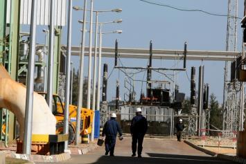 إطفاء محطة توليد كهرباء غزة بسبب الضرائب على الوقود