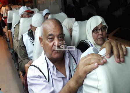 مغادرة أول فوج من حجاج بيت الله الحرام للديار الحجازية