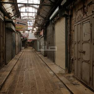 كورونا يغلق أسواق نابلس