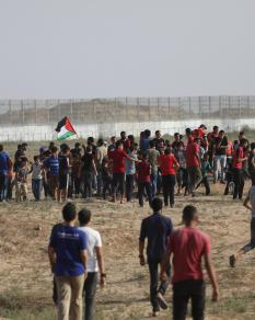 الجمعة الـ66 من مسيرات العودة شرقي غزة