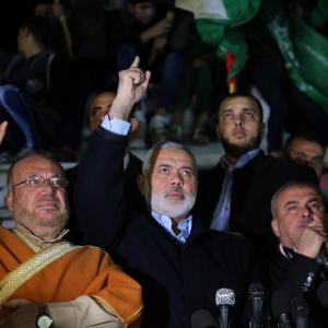 تظاهرات حاشدة بالقطاع نصرة للقدس