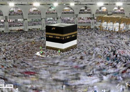 وصول حجاج بيت الله الحرام لمكة المكرمة