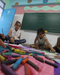 ألعاب الصيف بمدارس أونروا في غزة