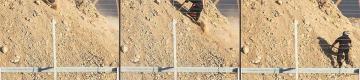 """""""رجل التلة"""" يتحدث لـ""""صفا"""" عن لحظة اعتلائه """"دشمة"""" قناصة الاحتلال شرق غزة"""