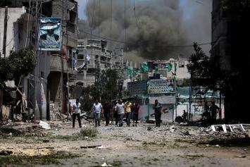 """""""بتسيلم"""": 70% من شهداء العدوان على غزة مدنيين"""
