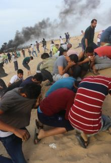 انطلاق المسير البحري الـ 12 لكسر حصار غزة