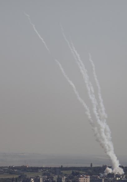 المقاومة تطلق صواريخ من غزة