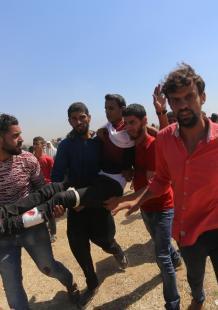 تظاهرة دامية بغزة غداة افتتاح السفارة الأمريكية بالقدس