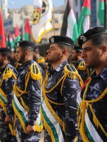 الشرطة بغزة تعرض إنجازاتها لعام 2018