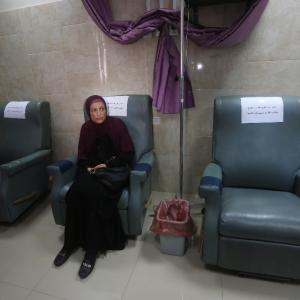 نفاد العلاج الكيماوي لمرضى السرطان في غزة