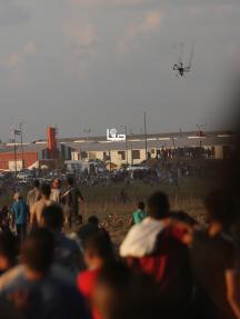فعاليات جمعة عائدون رغم أنفك يا ترمب شرقي غزة