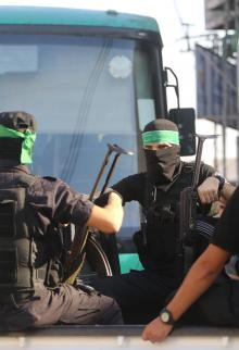 تشييع جثمان المناضلة فاطمة الحلبي بغزة