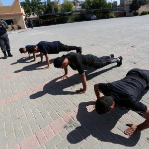 الداخلية بغزة تبدأ اختبارات استيعاب ألف منتسب جديد