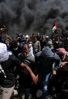 مواجهات وإصابات في جمعة الكوشوك بغزة