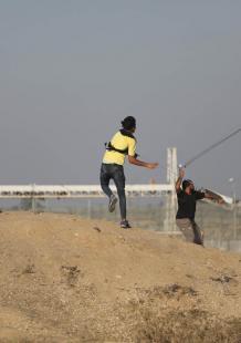 الجمعة الـ68 من مسيرات العودة وكسر الحصار