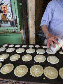 سوق نابلس القديم في شهر رمضان المبارك