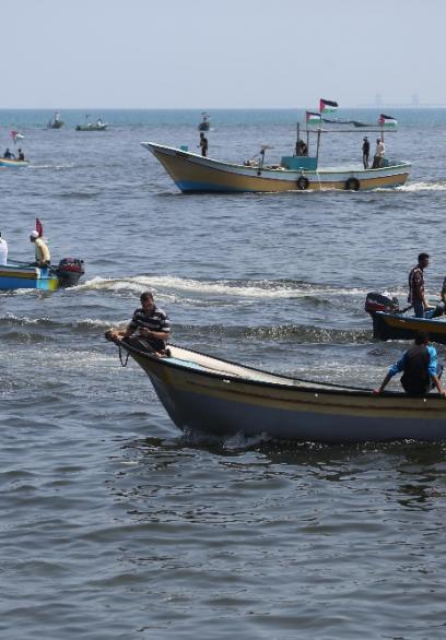 انطلاق أول رحلة بحرية لكسر الحصار من غزة