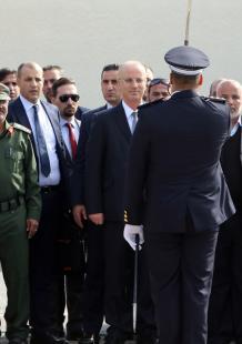 الحمد الله يجتمع بقادة الأجهزة الأمنية في غزة