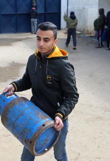 تواصل أزمة غاز الطهي بقطاع غزة
