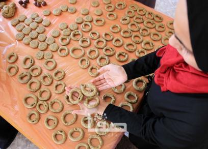 كعك العيد في غزة