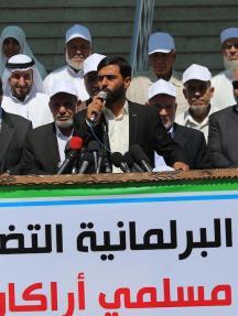 التشريعي بغزة يتضامن مع مسلمي ميانمار