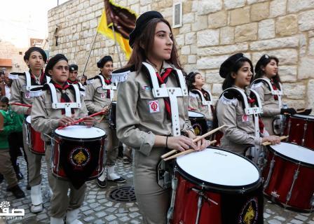 بطريرك القدس يصل إلى كنيسة المهد