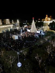 مراسم الاحتفالات بأعياد الميلاد برام الله وبيت لحم