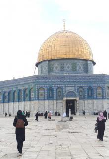 ٣٠ ألف مصل أدوا صلاة الجمعة بالمسجد الأقصى المبارك