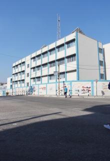 إضراب شامل يعم كافة مؤسسات أونروا بقطاع غزة