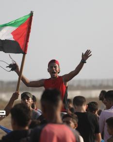 قمع الاحتلال متظاهري العودة شرقي القطاع في الجمعة الـ75