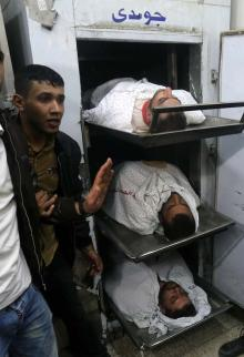 7 شهداء بقصف إسرائيلي استهدف نفقًا للمقاومة شرق خانيونس