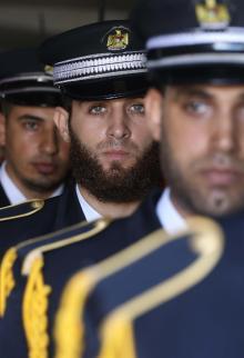 داخلية غزة تؤبن شهداء الواجب الثلاثة