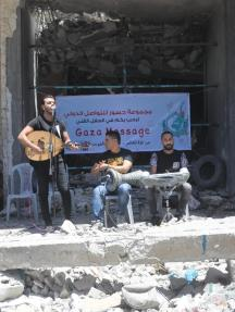Gazavision حفل غنائي بغزة ردًا على مسابقة اليوروفيجن