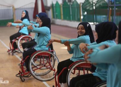 أول فريق كاراتيه نسائي لذوي الإعاقة
