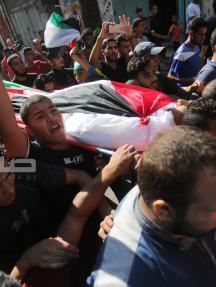 قطاع غزة يودع 7 شهداء ارتقوا أمس الجمعة
