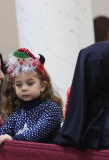 احتفالات المسيحيين في بيت لحم وغزة بعيد الميلاد
