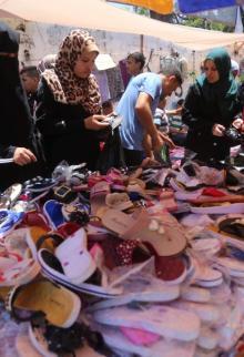 أسواق غزة في ظل العقوبات والحصار