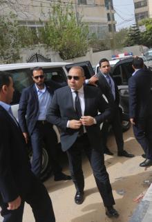 الوفد الأمني المصري بغزة يلتقي أبو عمرو