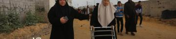 مسنون يخيّمون بذكرياتهم شرق غزة: العودة اقتربت